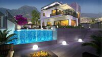 Villa of new construction with views to the sea and Benidorm