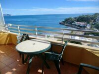 Apartment with sea views on the first line of the beach in Calpe.