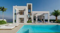 Newly built villa with private pool near Benidorm.