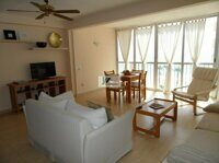 Apartment with sea views in Calpe. Located in a residential building on the beachfront of La Fosa.