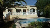 Villa within walking distance of the beach in Calpe.
