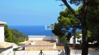 Plot with sea views on the Costa Blanca, Benissa.