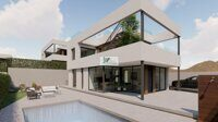 Newly built villa with private pool on the Costa Blanca, Benidorm.