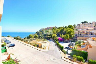 Apartment with sea views in Calpe.