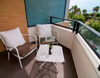 Apartment with sea views, 100 m from the beach in Albir.