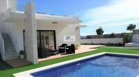 Newly built villa with views of the mountains in Polop.