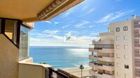 Apartment on the seafront on La Fossa beach with spectacular views , in Calpe.