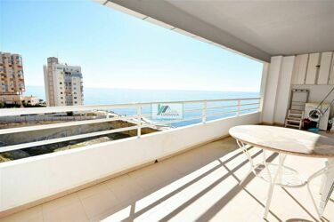 Apartment in first line of the Levante beach in Calpe.