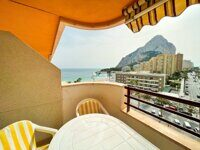 Impeccable first line apartment in La Fossa with direct sea views in Calpe