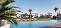 Newly built apartment on the Costa Blanca, near Benidorm.