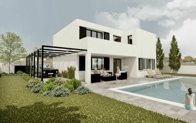 House, new building, in Calpe.