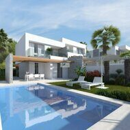 Newly built detached house in the Sierra Cortina, just 3.8km from the beach in Benidorm.