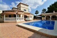 Beautiful villa with views to the mountains in Calpe. Located 1.6 km from the sandy beach