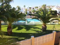 Detached house in a complex with pool within walking distance of the beach in Calpe
