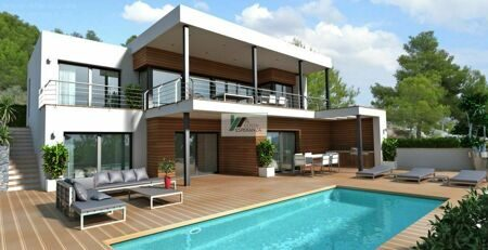 Project of a Modern House in Moraira, planned for late 2018
