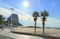 Apartment on the first line of the beach in Calpe. It is a step away from restaurants, shops, promenade, pharmacy, bus stop, and 300 meters from the city center.