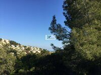 Plot with partial sea views to the mountain on the coast of Benissa.