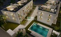 Newly built apartment with garden just 850m from the Arenal beach in Jávea