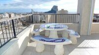 Penthouse with sea views in the central part of Calpe.
