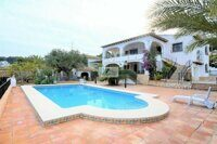 OFFER ! PRICE DROP 13%! Villa with sea views just 500 meters from the beach on the coast of Benissa.