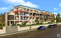 New construction. The apartment is near the beach and 1km to Denia town centre.