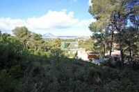Plot with partial sea views in Javea.