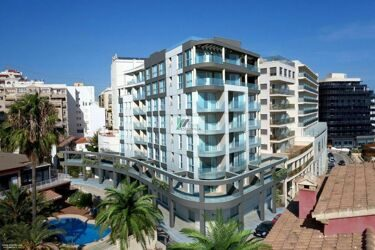 New construction. A new residential complex with sea views just a step away from the beach and the center of Calpe.