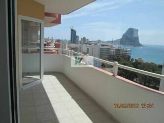 Apartment with sea views within walking distance of the beach, in the central part of the city of Calpe.