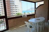 Apartment with sea views next to the beach with promenade in Calpe