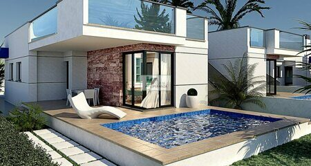 Newly built villa a short distance from the beach in Verger, on the Costa Blanca.