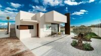 Modern detached houses in Polop with panoramic views to the sea and mountains