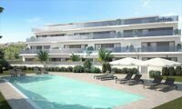 New low rise residential complex with views to the sea and Benidorm.