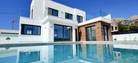Newly built villa located in Polop with sea views