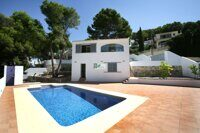 Villa on the Costa Blanca, 2.5 km from the beach and the center of Moraira