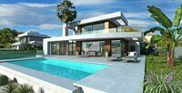 New construction. Modern design villa in Moraira.