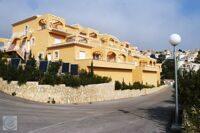Apartment with sea views in a residential complex in Benitachell.