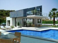 Villa of new construction in Tormos.