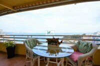 Penthouse with stunning views to the sea in front of the Fosa-Levante beach in Calpe
