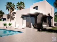 New house near the beach in Denia.