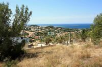 Plot with sea views, just 1.0 km from the beach of Las Rotas, Denia.