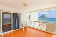 Apartment in front of the beach arenal-bol from Calpe and a few steps from the city