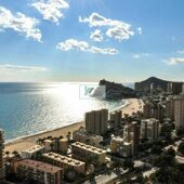 New luxury residential complex near the beach in Benidorm.