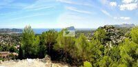 Plot with sea views on the Costa Blanca,Moraira