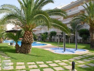 The residential complex is 300m to the beach in Javea.