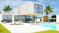 Villa of new construction, modern design in Polop, on the Costa Blanca