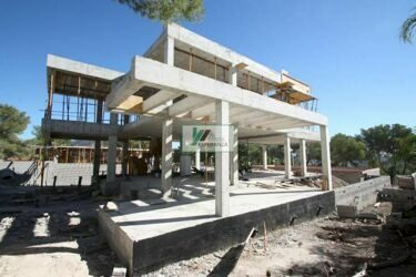 New construction. House with sea views in Moraira.