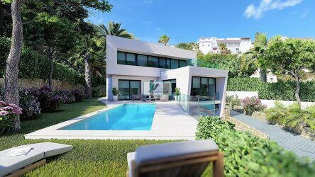 Villa of new construction in Moraira