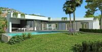 Villa within walking distance of the beach, in Calpe. New construction.