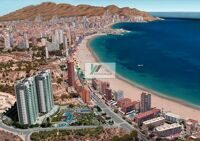 Beautiful apartment on the second line, which is located in one of the most famous areas of Costa Blanca North , Benidorm.