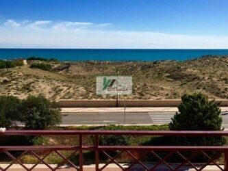 Apartment in front of Playa de La Mata with stunning panoramic sea views.